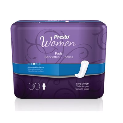 Presto Incontinence Liner for Women