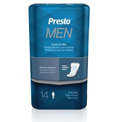 Presto Maximum Male Incontinence Liner