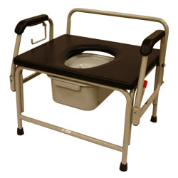 "Roscoe 26"" Bariatric Drop Arm Commode (800 lb. Weight Capacity)"