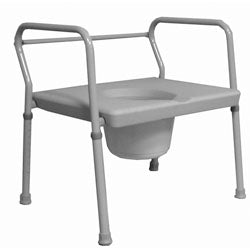 "Roscoe 24"" Extra Wide Commode (650 lb. Weight Capacity)"