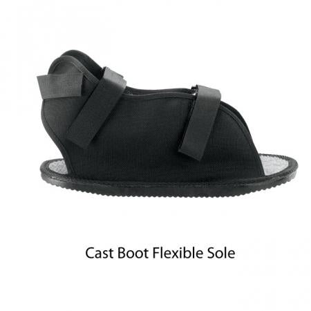 Breg Canvas Cast Boot and Flexible Sole