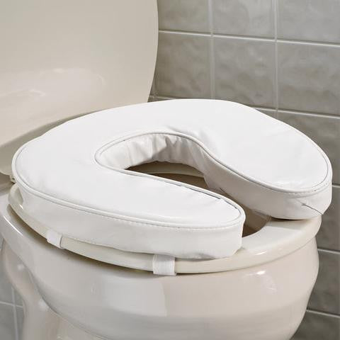 "2"" EZ RISE CUSHIONED TOILET SEAT"