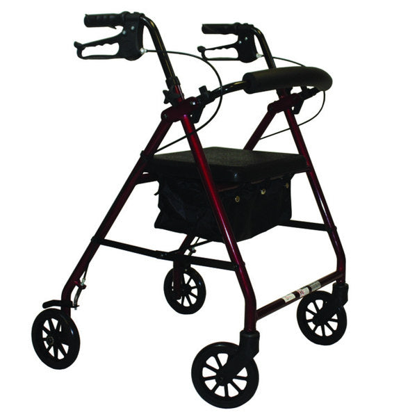 ROLLATOR E-SERIES BLACK