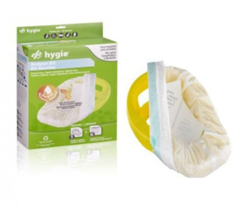 Bedpan Kit (contains bedpan & 6 covers)