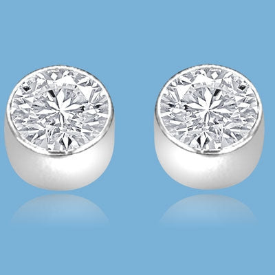 a023f15b58ee6 Diamond Essence Studs with 0.5 ct. Round Brilliant stone in 14K ...