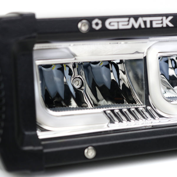Gemtek LED Light Bar Osram Reflector Flood Spot Beam