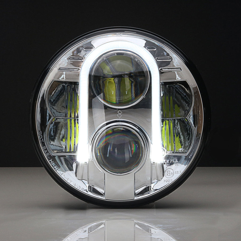 7 Inch Halo LED Headlight