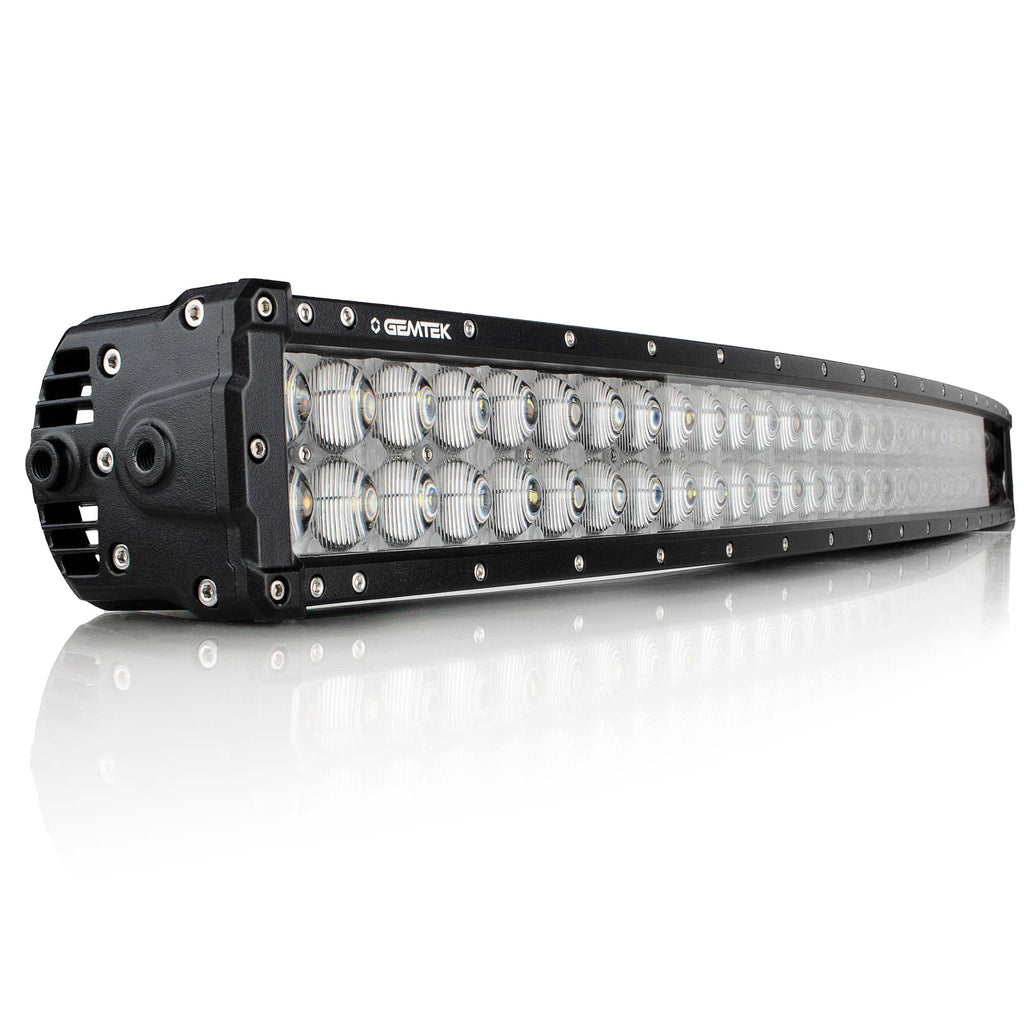 32 Inch Curved LED Light Bar Double Row ECE High Beam GS Series