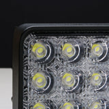 4 Inch 48W Square LED Work Light Flood