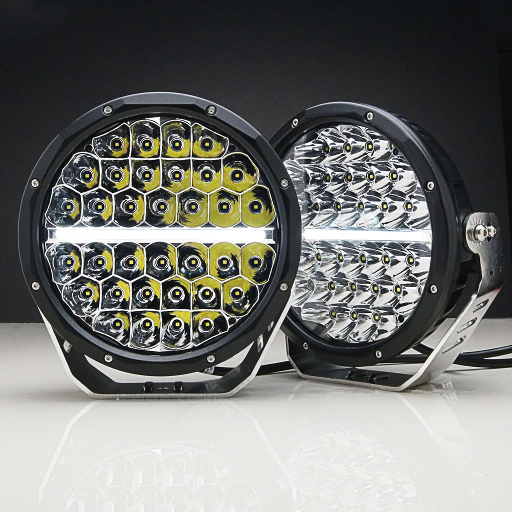 GEMTEK 9 inch LED Driving Spot Light DRL