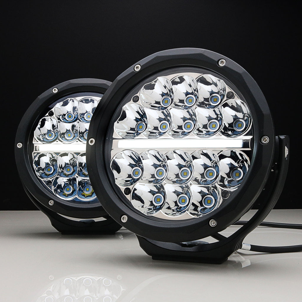 GEMTEK Spectre 7 Inch OSRAM LED Driving Lights DRL | PAIR