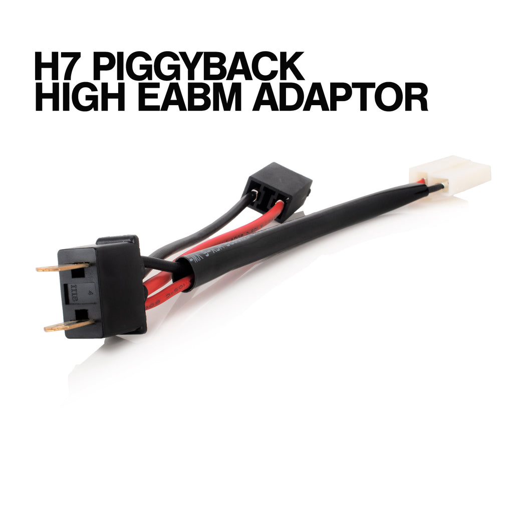 H7 Piggyback High Beam Wiring Kit Adapter