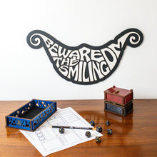 Load image into Gallery viewer, Beware the Smiling DM Sign - Tabletop Artisans