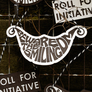 Beware the Smiling DM Ornament - Free US shipping! - Tabletop Artisans