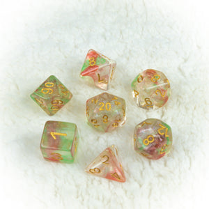 Candy Concussion Dice set- Free US shipping! - Tabletop Artisans