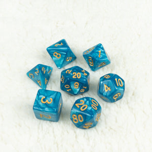 Baykal Lake Dice set- Free US shipping! - Tabletop Artisans