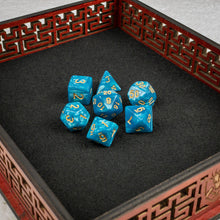 Load image into Gallery viewer, Baykal Lake Dice set- Free US shipping! - Tabletop Artisans