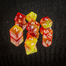 Load image into Gallery viewer, Fire Dice Set- Free US shipping! - Tabletop Artisans