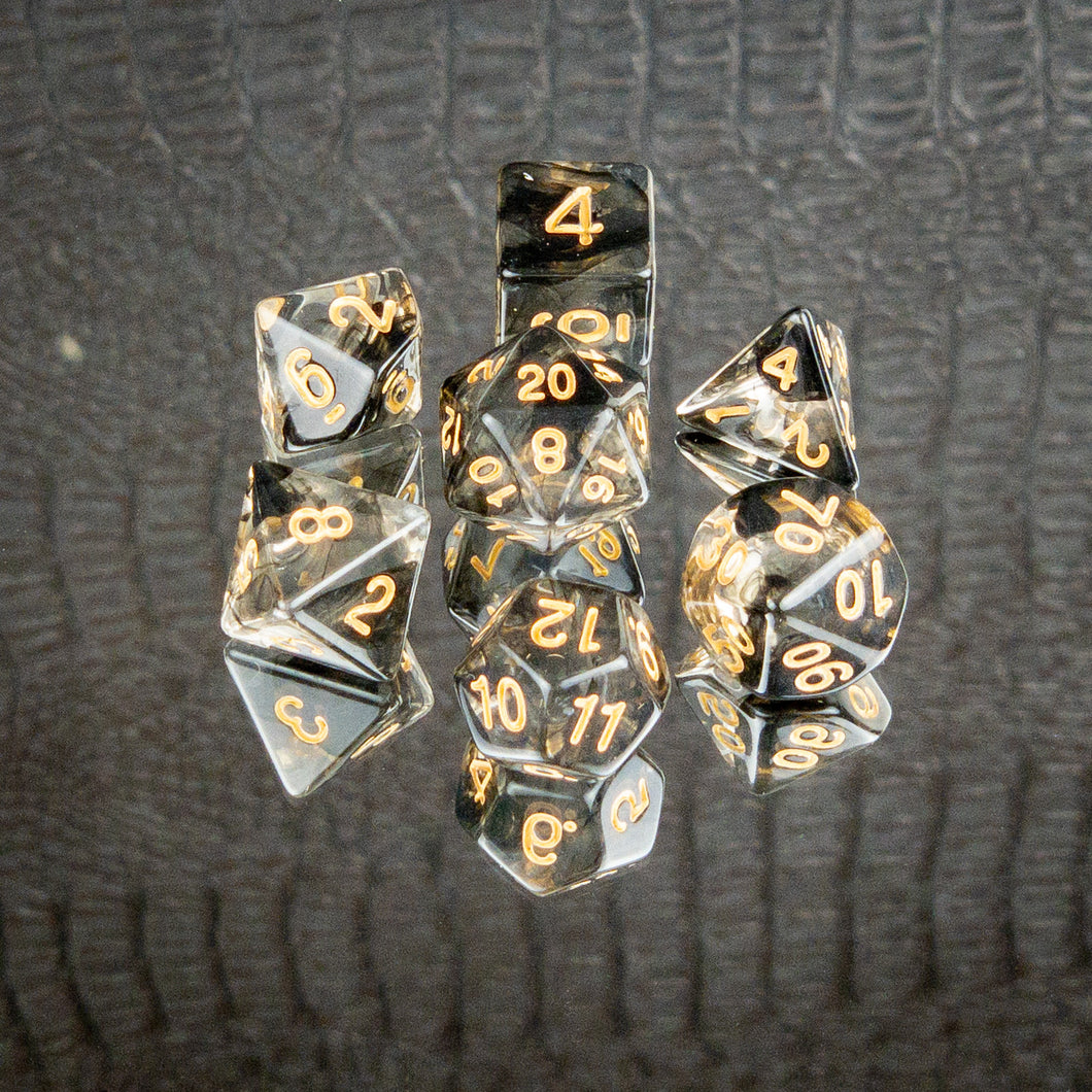 Ink in Water Dice Set- Free US shipping! - Tabletop Artisans