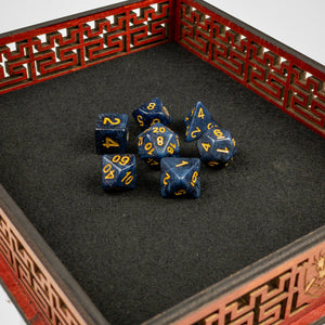 Midnight Sky Dice set- Free US shipping! - Tabletop Artisans