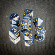 Load image into Gallery viewer, Midnight Sky Dice set- Free US shipping! - Tabletop Artisans