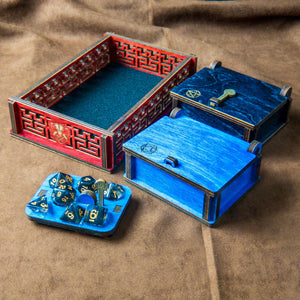Dice Tray and 2 Lockboxes Kit - Tabletop Artisans