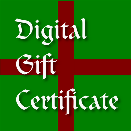 Digital Gift Card - Tabletop Artisans
