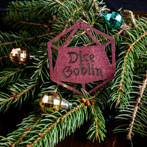 Dice Goblin D20 Ornament - Tabletop Artisans