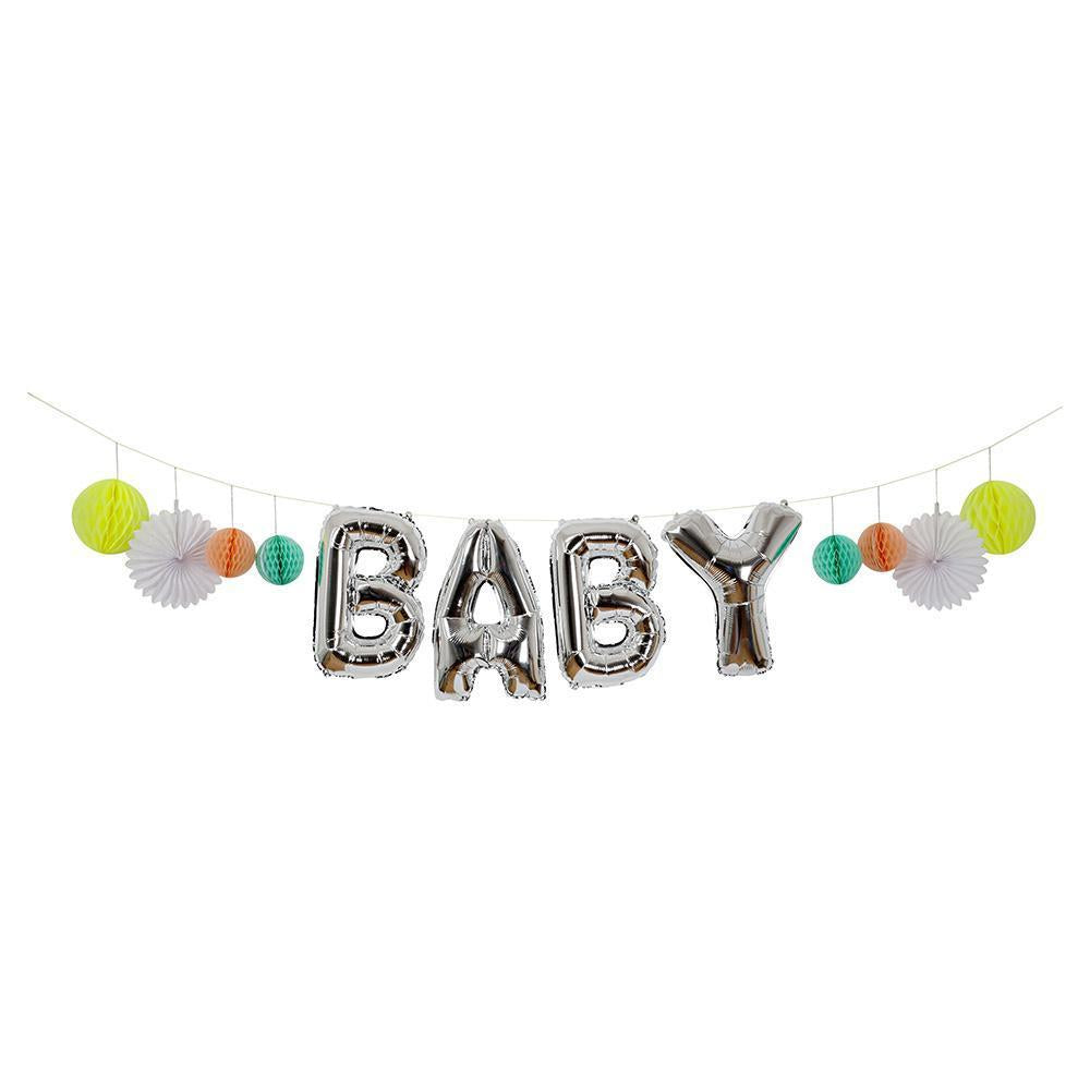 Meri Meri Baby Balloon Garland WAS $23 NOW $12 - Belinda's Store Yamba