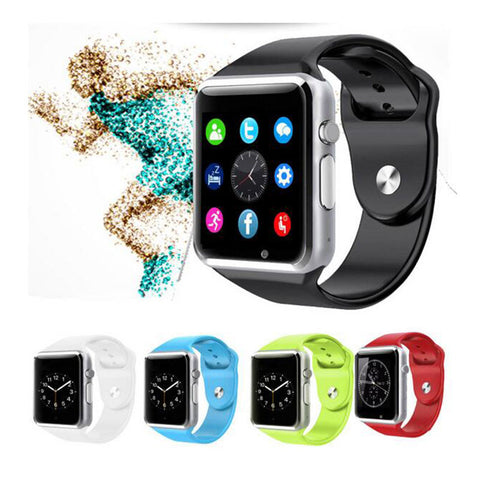 Hot Sale Bluetooth Smart Watch Sport Pedometer With SIM For Android IOS