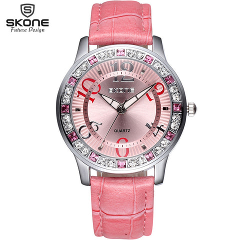 Watch Women luxury Fashion Casual quartz watches leather sport Lady