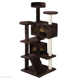Cat Tree Tower Condo Furniture Scratching Post Pet Play House 66""