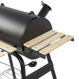 BBQ Grill Charcoal Barbecue Pit Patio Backyard Home Meat Cooker Smoker