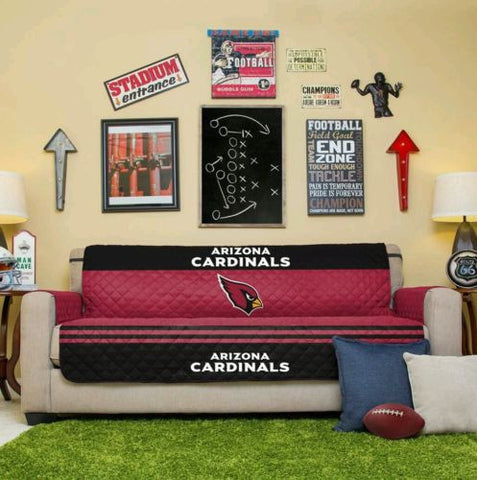 ARIZONA CARDINALS NFL FOOTBALL TEAM SOFA COUCH COVER FURNITURE MAN CAVE