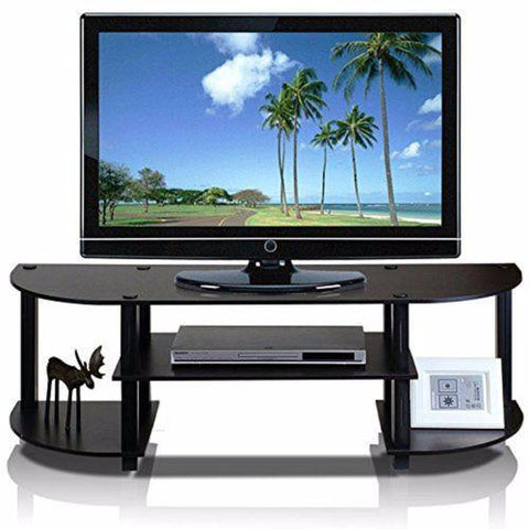 TV Stand Entertainment Center Console Media Wood Furniture Storage Home Theater