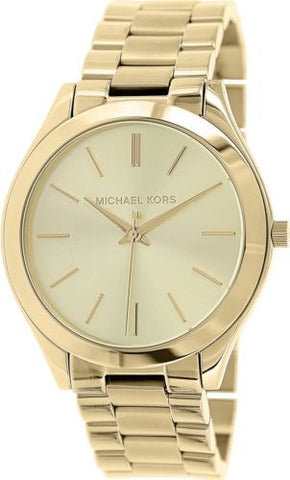 Michael Kors Women's Runway Gold Stainless-Steel