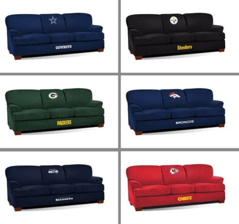 Choose Your NFL Team Premium First Team Soft Microfiber Sofa by Imperial
