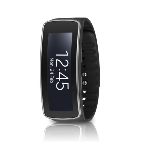 Samsung Galaxy Gear Fit SM-R350 Smartwatch Fitness Tracker - Black