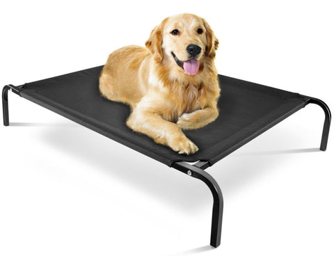 Dog Bed Lounger Sleeper, Pet Cat Cot Portable for OxGord Elevated  Indoor Outdoor