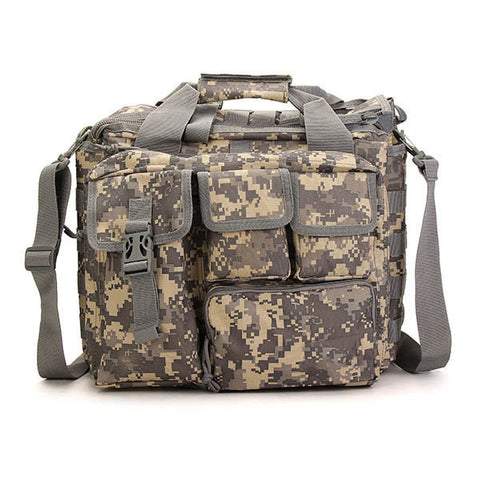 Outdoor Sport Laptop Camera Mochila Men Messenger Bag Travel Tactical Multifunction Bag - Price Drop Online