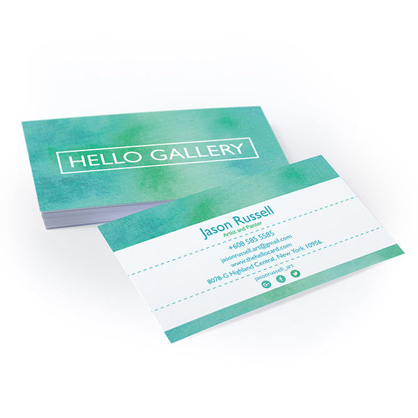 Standard Business Card - Matte Laminated (14pt) - thehellocard