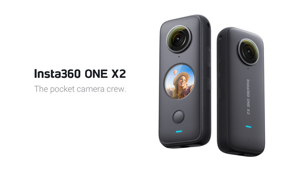 Insta360 ONE X2 (LATEST) 360° Action Video Camera