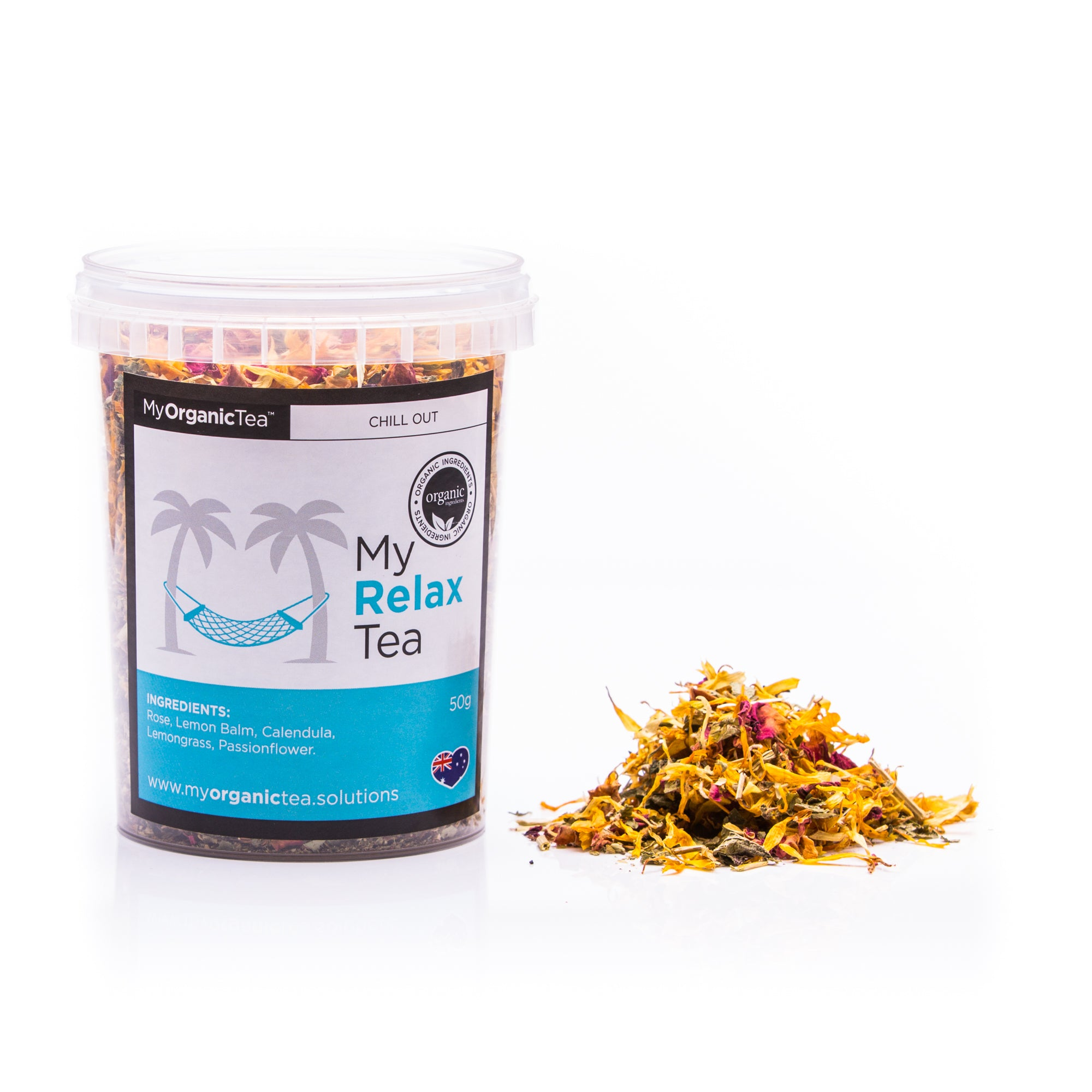 My Relax Tea 60 Grams (30 Serves) - OrganiTea Australia