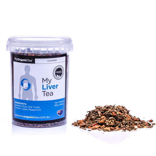 My Liver Tea 60 Grams (30 Serves) - OrganiTea Australia