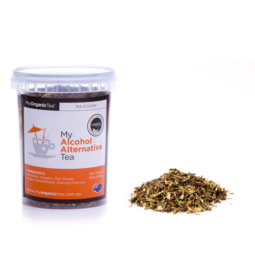 My Alcohol alternative Tea 80g - OrganiTea Australia