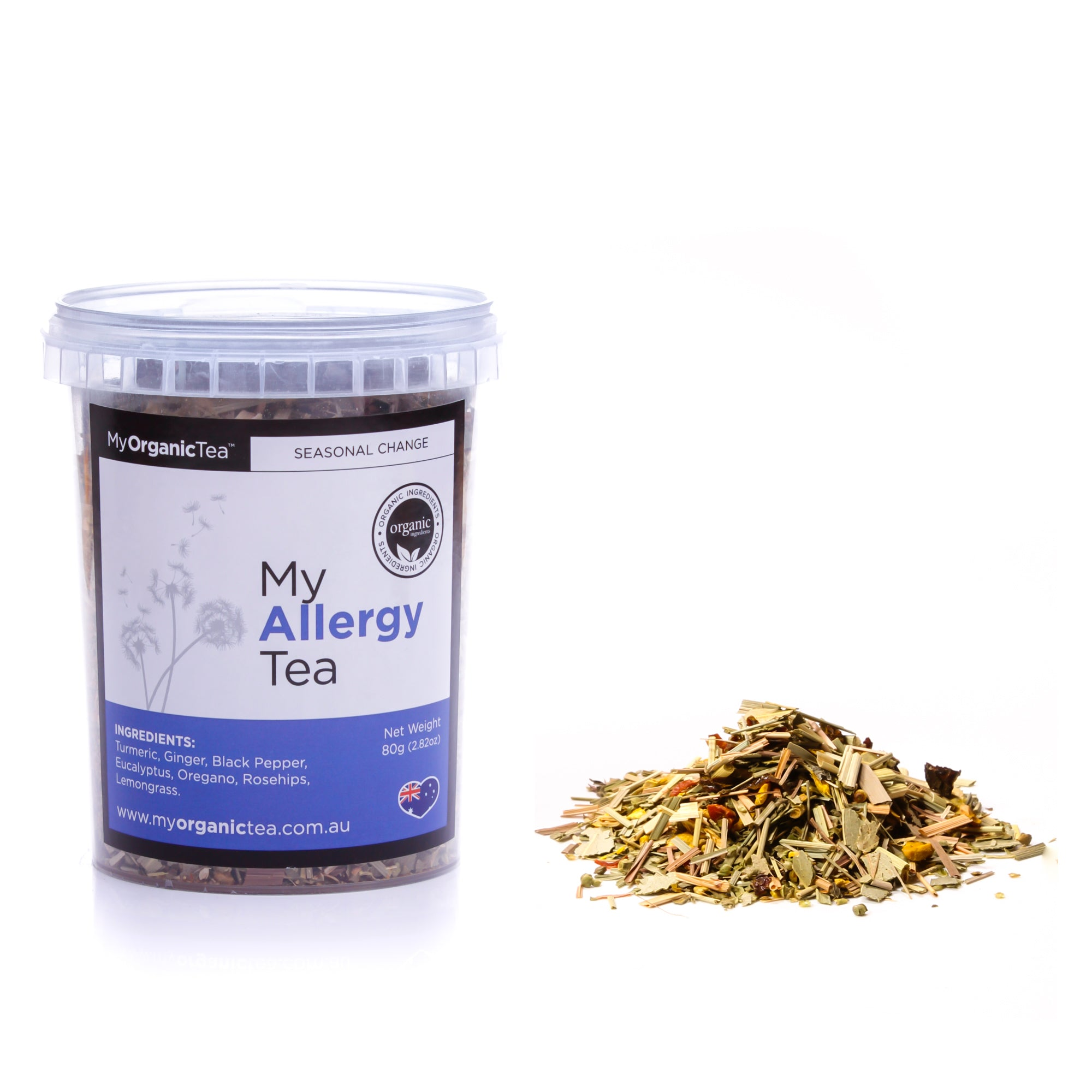 My Allergy Tea 60 Grams (30 Serves) - OrganiTea Australia