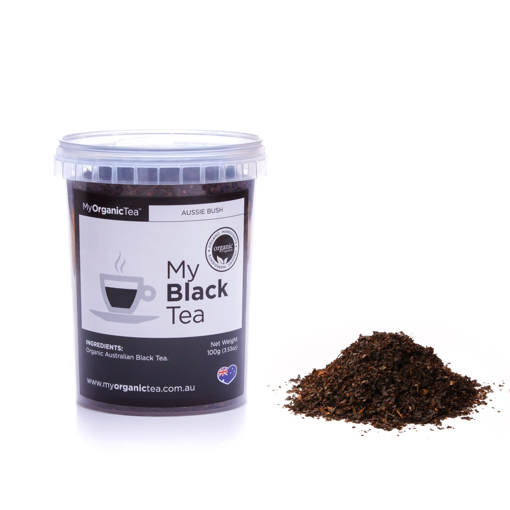 My Black Tea 100 Grams (50 Serves) - OrganiTea Australia