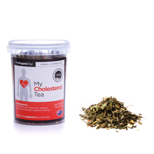 My Cholesterol Tea 60 Grams (30 Serves) - OrganiTea Australia