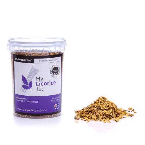 My Licorice Tea 130 Grams (40 Serves) - OrganiTea Australia