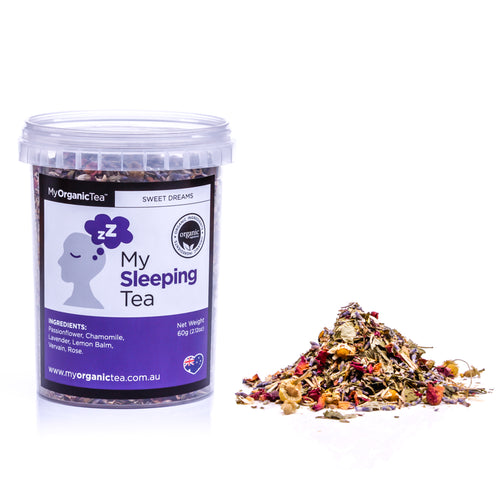 My Sleeping Tea 60 Grams (30 Serves) - OrganiTea Australia
